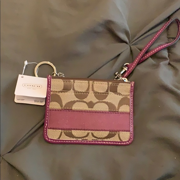 Coach Handbags - Coach slim ID wallet wristlet  brand new with tags